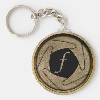 Aperture Keychain