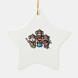 Apes Rock Christmas Ornament