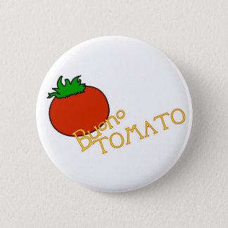 APH Buono Tomato Button Badge