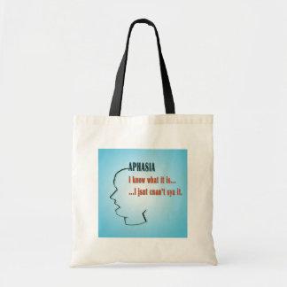 Aphasia Budget Tote Bag