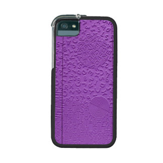 Aphasia in Purple iPhone 5 Cases