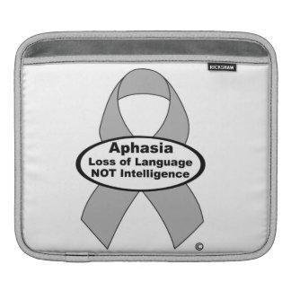 Aphasia Silver Ribbon Ipad Sleeve
