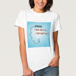 Aphasia Tee Shirts