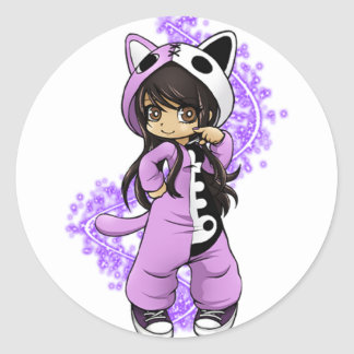Aphmau Official Limited Edition Classic Round Sticker