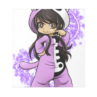 Aphmau Official Limited Edition Notepad