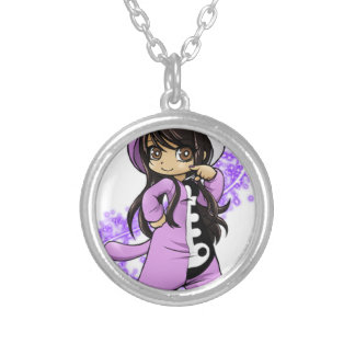 Aphmau Official Limited Edition Silver Plated Necklace