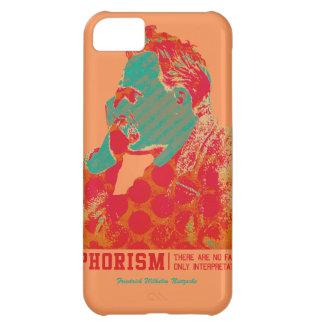Aphorism -Friedrich Nietzsche- iPhone 5C Case