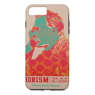 Aphorism -Friedrich Nietzsche- iPhone 7 Plus Case