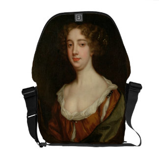 Aphra Behn (1640-89) (oil on canvas) Messenger Bags