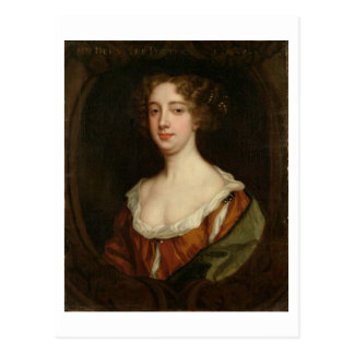 Aphra Behn (1640-89) (oil on canvas) Postcard