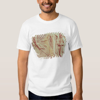 Aphrodite and Hermes riding on a chariot Tshirts