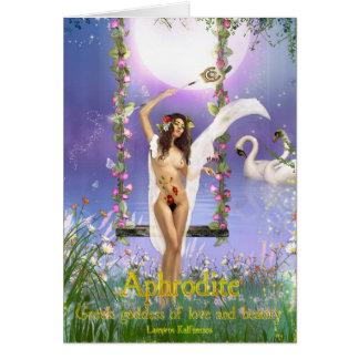 Aphrodite Card