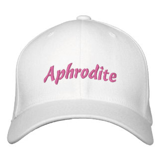 Aphrodite Hat Embroidered Baseball Cap