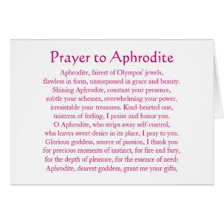 Aphrodite Notecard