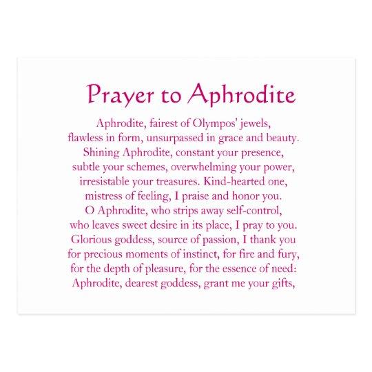 Aphrodite Postcard