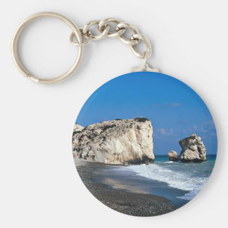 Aphrodite's birthplace, Pissouri, Cyprus Key Ring