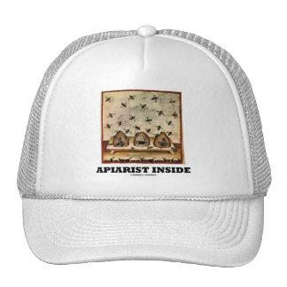 Apiarist Inside (Tacuina sanitatis 14th Century) Mesh Hats