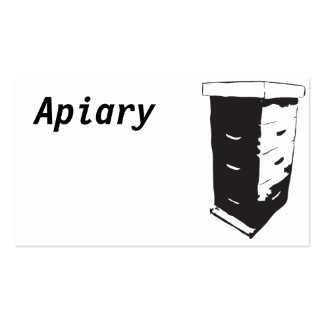 Apiary Pack Of Standard Business Cards