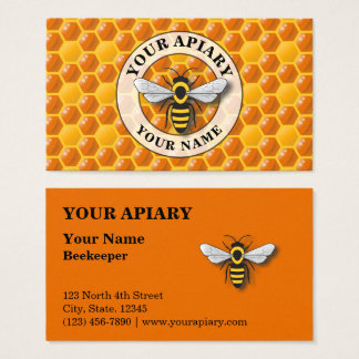 Apiary Honeycomb Template