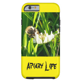 Apiary Life iPhone 6 case Honey bee on flower Tough iPhone 6 Case