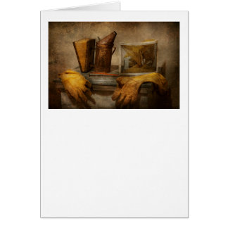 Apiary - The Beekeeper Greeting Card