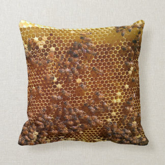 Apiary Throw Pillow Cushions