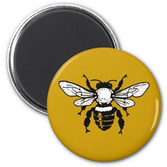 Apis Mellifera Honeybee Fridge Magnet