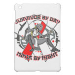 Aplastic Anemia Survivor By Day Ninja By Night Cover For The iPad Mini