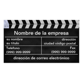 aplaude el movies pack of standard business cards
