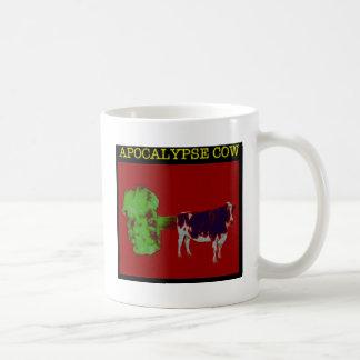 Apocalypse cow basic white mug