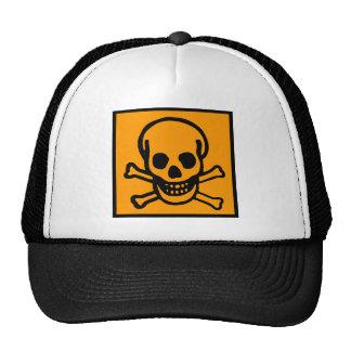 APOCALYPSE SKULL & CROSS BONES by Zombie Ghetto Cap
