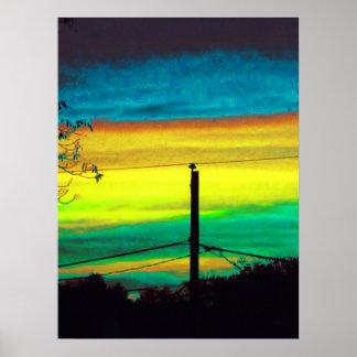 Apocalypse Sunset Poster