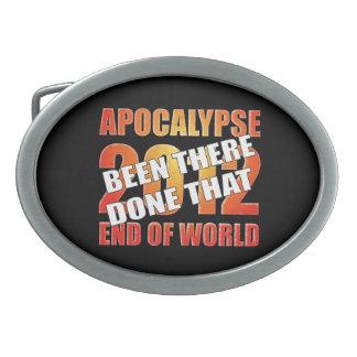 Apocalypse Survivor Belt Buckle