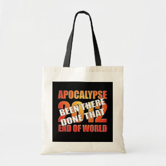 Apocalypse Survivor Budget Tote Bag