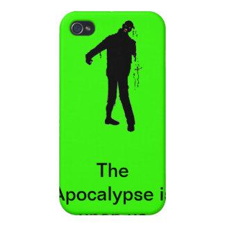 Apocalypse upon us iPhone 4/4S covers