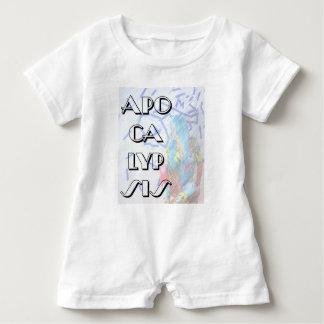 apocalypsis baby love puzzles baby bodysuit