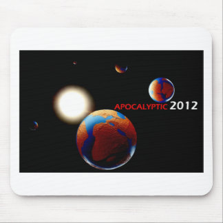 Apocalyptic 2012 mouse pad