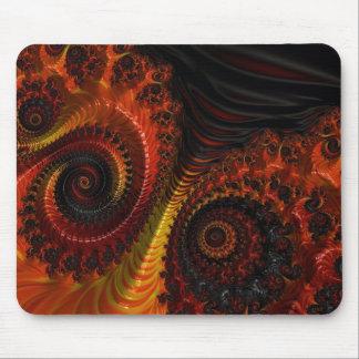 Apocalyptic Beauty Fractal Art Mouse Pad