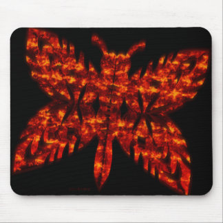 Apocalyptic Butterfly Mouse Pad