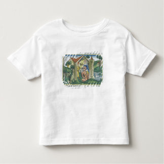 Apocrypha: Tobit is blinded by sparrow's droppings Toddler T-Shirt