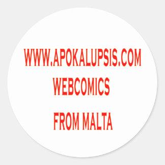 Apokalupsis Sticker