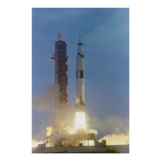 Apollo 10 Launch Poster