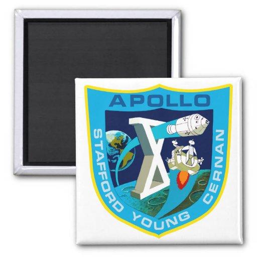 Apollo 10:  To The Moon Again! Fridge Magnets