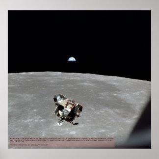 Apollo 11 Docking Poster