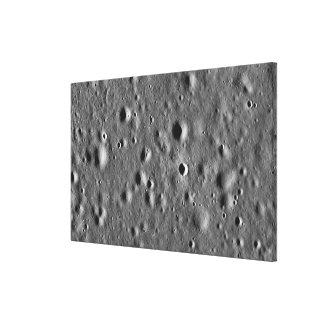 Apollo 11 landing site canvas prints