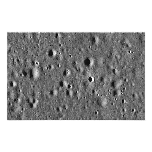 Apollo 11 landing site photo