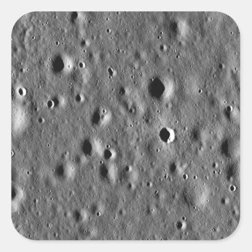 Apollo 11 landing site stickers
