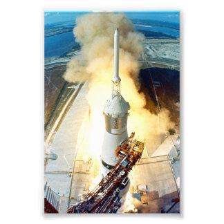 Apollo 11 Launch Photograph