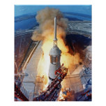 Apollo 11 Launch Poster
