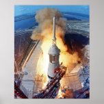 Apollo 11 Launch Poster